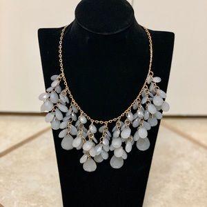 Natasha Couture Bib Statement Necklace